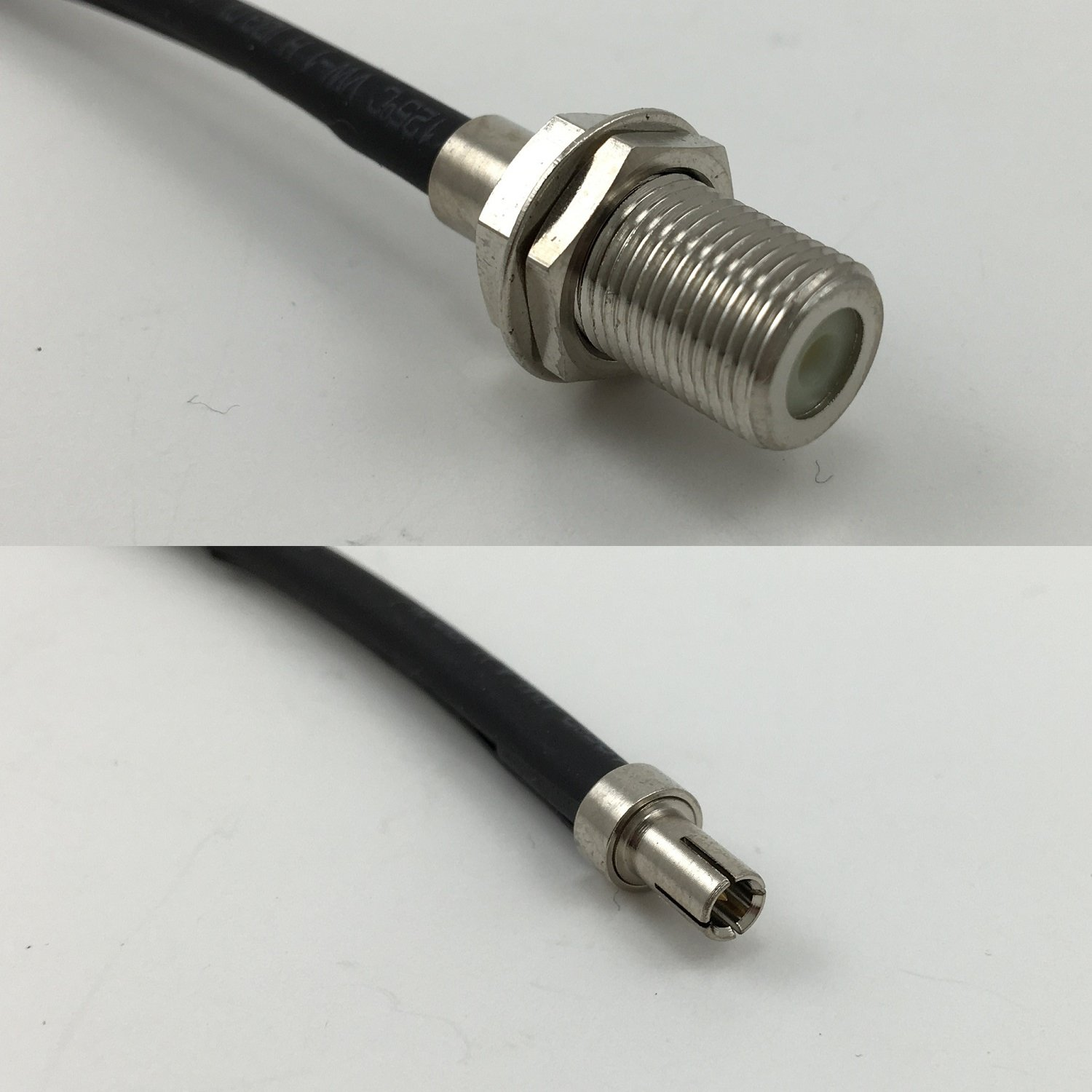 3 feet RG316 F FEMALE to TS-9 MALE Pigtail Jumper RF coaxial cable 50ohm High Quality Quick USA Shipping