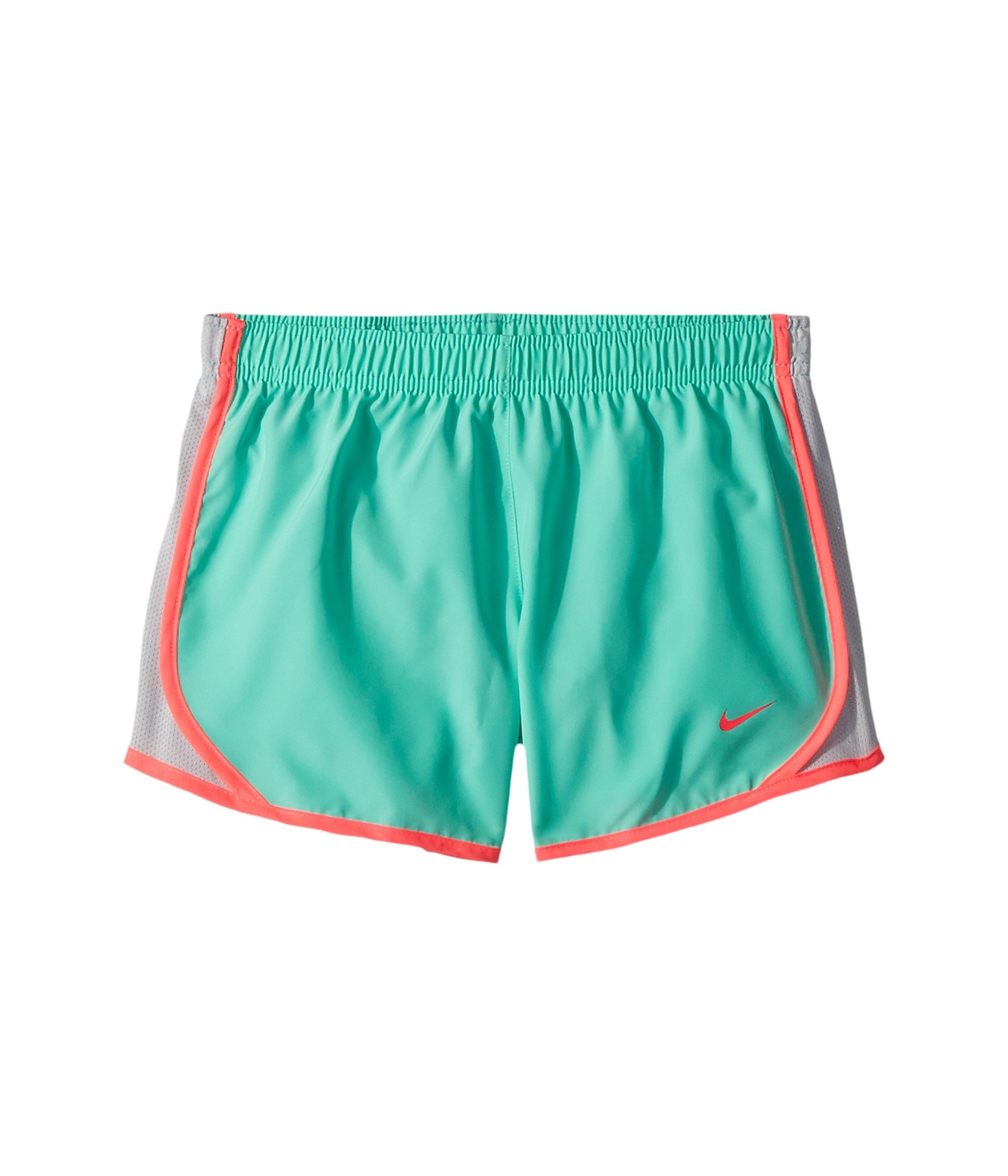 Nike Girl's Dry Tempo Running Shorts (Menta, Large) by Nike
