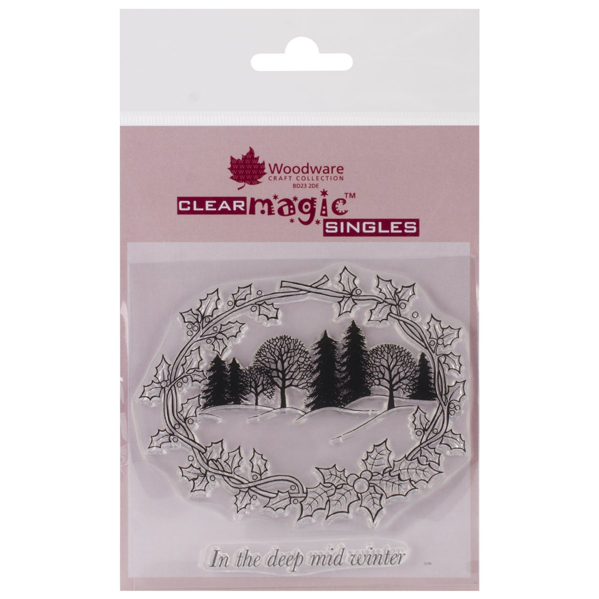 Woodware Clear Stamps 3.75''X4'' Sheet-Winter Wonderland Woodware Clear Stamps 3.75''X4'' Sheet-Win Woodware Craft Collection