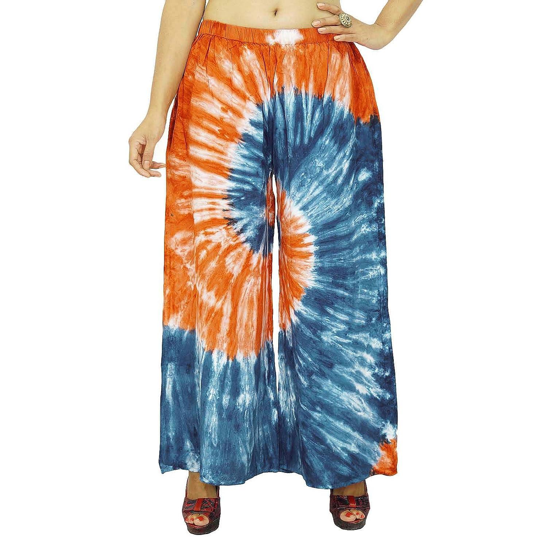 Viskose elastischen Pluderhosen Gypsy Hose löst Frauen Hosen Strand Pyjamas