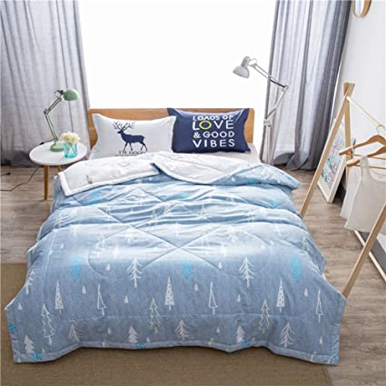 Amazon Com Uther Summer Air Conditioning Quilt Pine Pattern