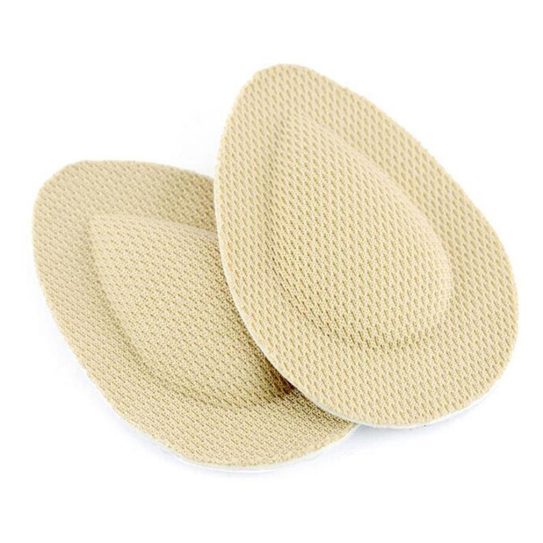 1 Pair Forefoot Metatarsal Ball Foot Support Pads ,ChainSee Unisex Relief Sore Pain Insole Cushions Foot Protector Cushion Shoe Grip Liner (Khaki)