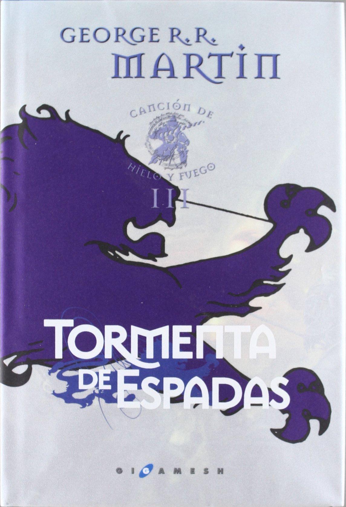 Download Tormenta de espada. Canción de hielo y fuego. Libro Tercero. (Cartoné) pdf epub