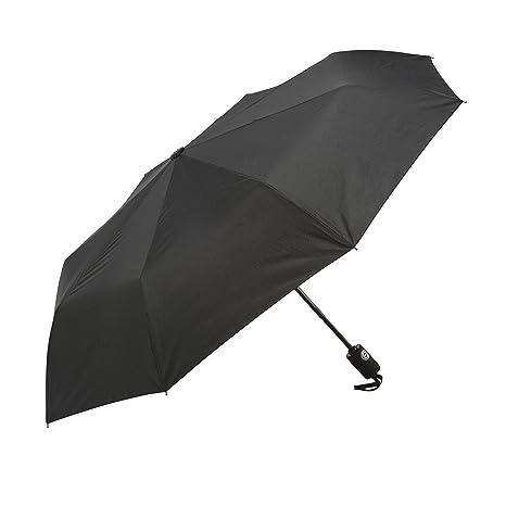 Paraguas, estructura reforzada resistente al viento, probado con vientos hasta 60 mph, duraderoParaguas