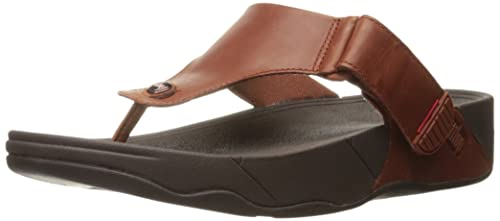 Trakk Ii Leather, Mens Open-Toe Sandals FitFlop