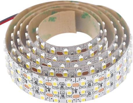 5m 2835 LED Flexible Strip Lighting 240Leds//m white 5//8//10mm tape lamp 12V 24V