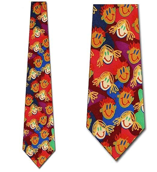 fdcd4f765223 Amazon.com  Children s Ties Children s Drawing Neckties Kids Tie ...
