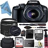 Canon EOS T100/4000D DSLR Camera w/Canon EF-S 18-55mm F/3.5-5.6 III Zoom Lens + Case + 32GB SD Card + More + ZeeTech…