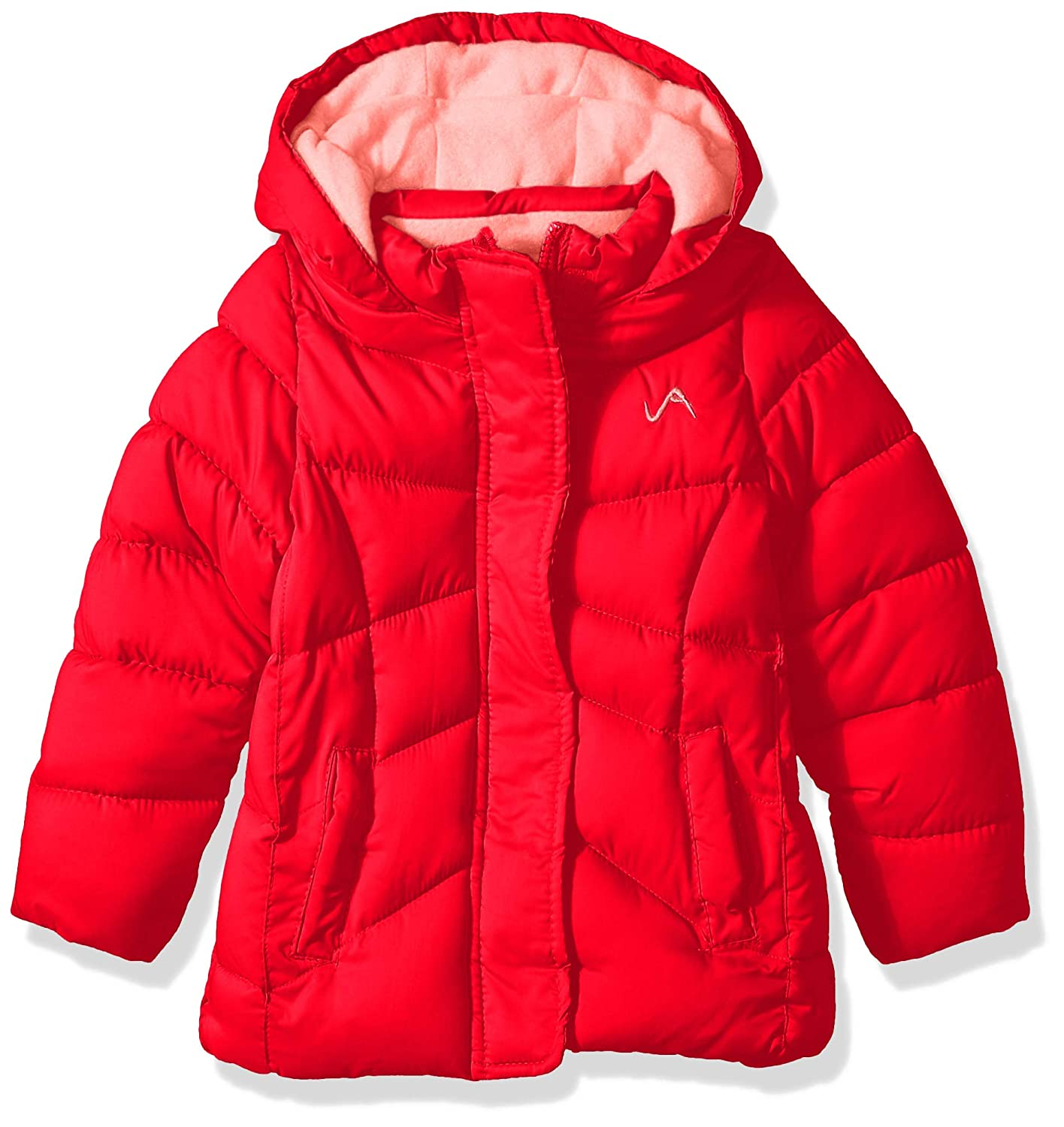 Vertical 9 Girls Quilted Bubble Jacket with Hood