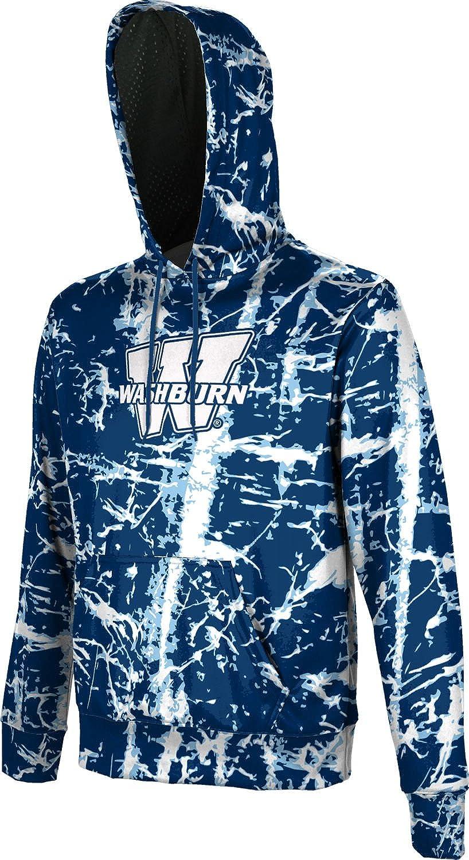 Distressed ProSphere Washburn University Boys Hoodie Sweatshirt