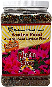 Nelson Plant Food for All Acid Loving Plants In Ground Container Patio Food Huge Blooms Azalea Jasmines Roses Camellias Gardenias NutriStar 9-13-11 (4 lb)