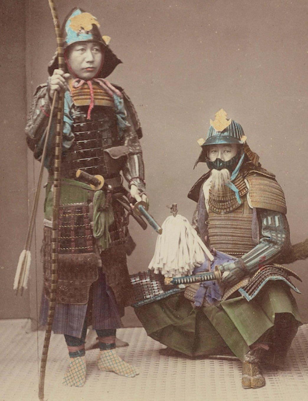 Download Journal Paper Notebook: Japanese Samurai Armor Portrait cover PDF