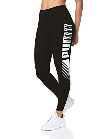 PUMA Essentials+ Graphic Damen Leggings Puma Black S