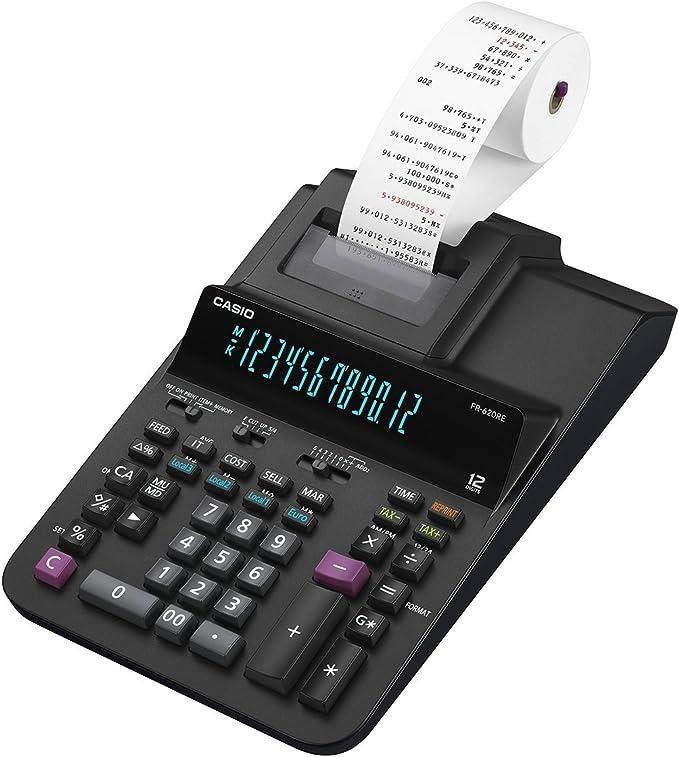 Casio FR-620RE - Calculadora de sobremesa: Amazon.es: Oficina y ...