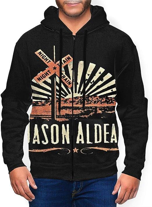 Jason Aldean Sweatshirt Mens Hoodie Long Sleeve Pullover