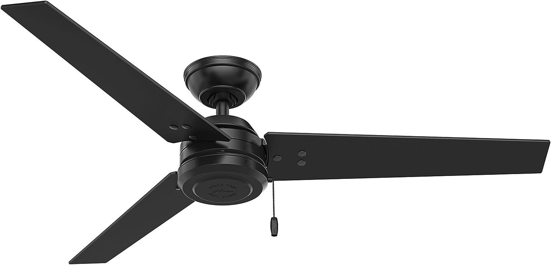 Hunter Fan Company Cassius Matte Black Ceiling Fan