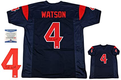 7c16b18fa Image Unavailable. Image not available for. Color  Deshaun Watson  Autographed Signed Jersey ...