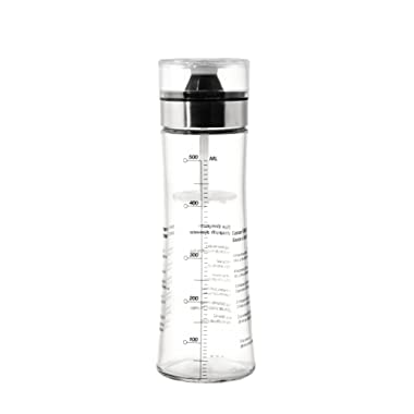 Juvale All-in-One Salad Dressing Making Cruet - Salad Dressing Mix and Pour Container - 550mL