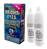Bright Eyes™ Carnosine NAC Ethos Eye Drops 10ml (2 x 5 ml) - suitable and safe for cataract sufferers - Ethos bestselling and original formulation as seen on prime time UK TV with astonishing results - also soothes dry and tired eyes