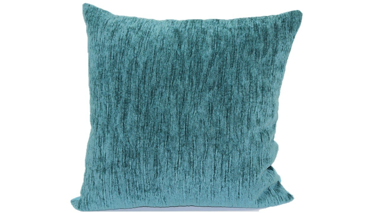 Teal Brentwood Originals 1820 Latham Toss Pillow 18-Inch