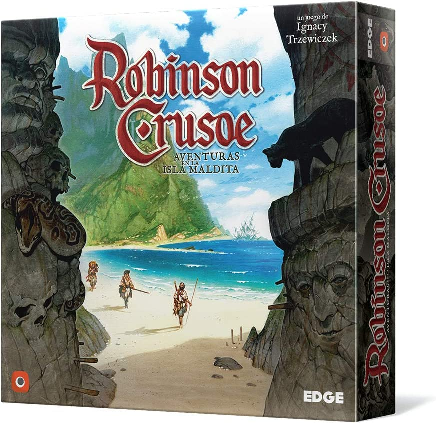Edge Entertainment EDGRC01- Robinson Crusoe, Aventuras en la isla ...