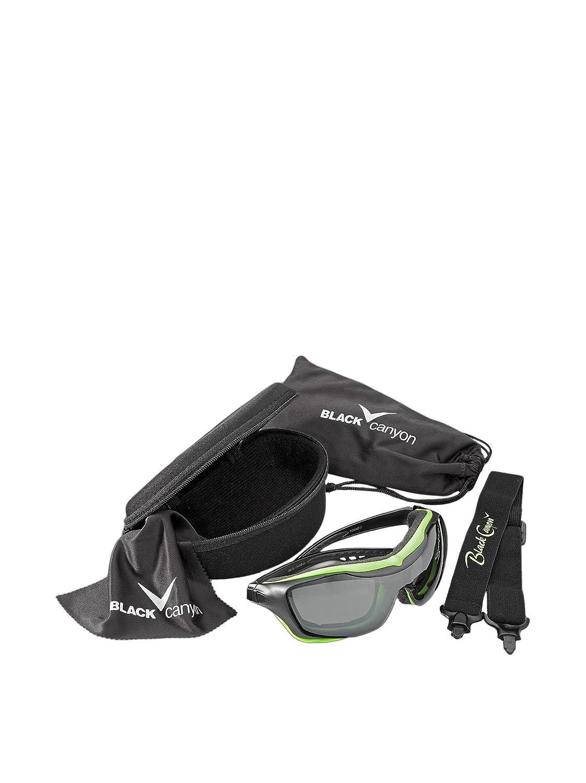 Black Canyon Gafas polarizadas para nieve multicolor negro/verde Talla:2: Amazon.es: Deportes y aire libre