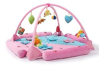 PUDDINGT® Coperta di attività/Foglio di Gioco con Giocattoli Rimovibili per Bambini Divertenti e Giocare Fin dalla Nascita