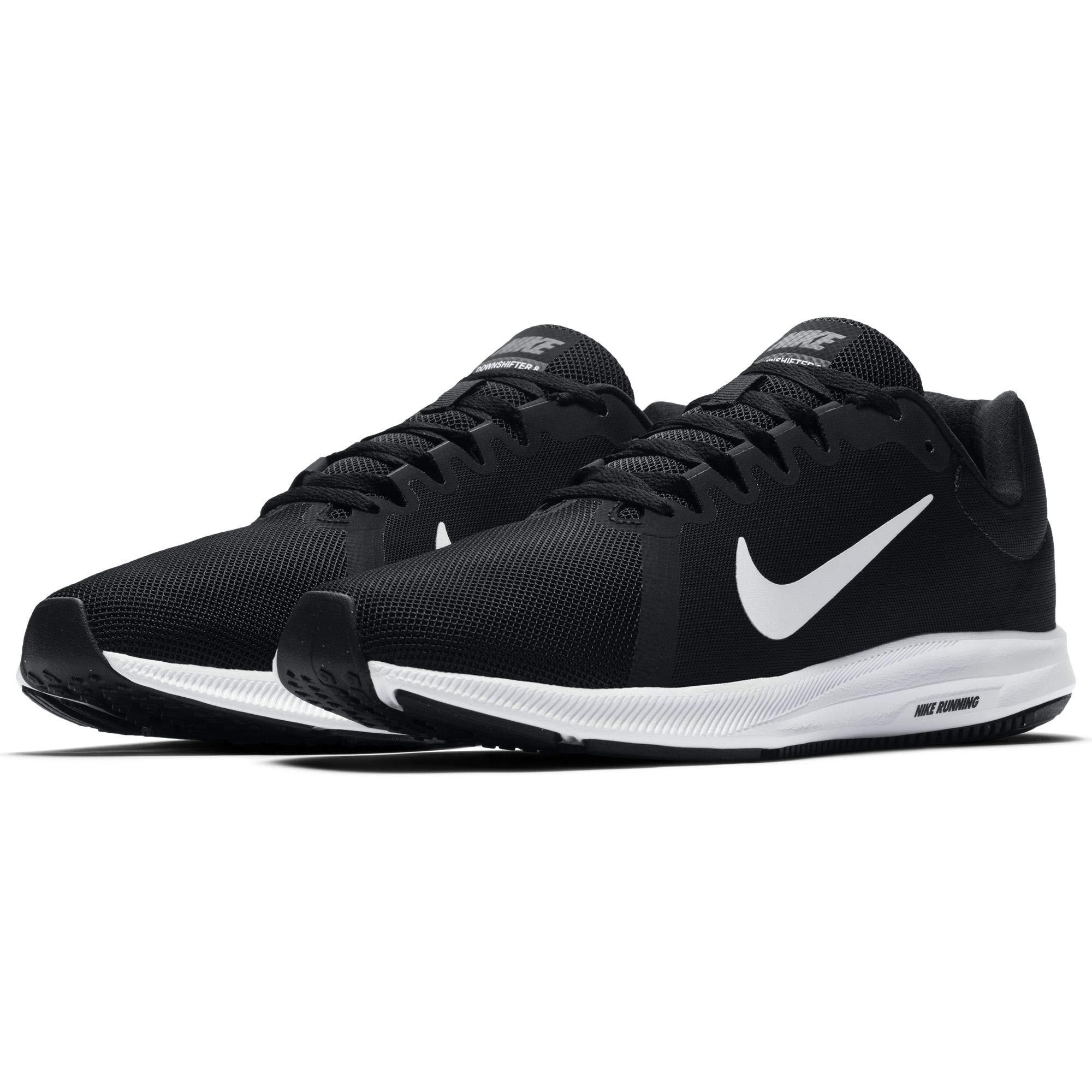 Nike Men's Downshifter 8 Running Shoe Black/White/Anthracite 8 Regular US