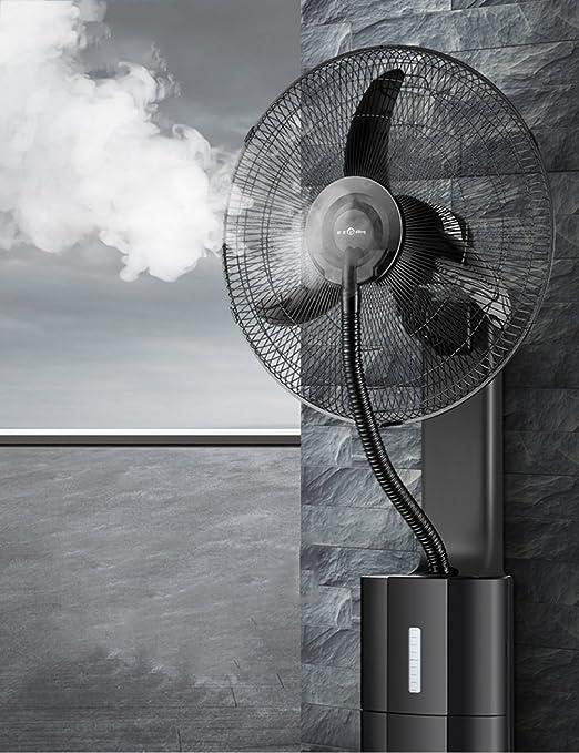 Ventiladores Brisk- Comercial Colgar En La Pared Industria Niebla Eléctrico Colgar En La Pared Control Remoto Silencio Casa 18 Pulgadas Enfriamiento por ...