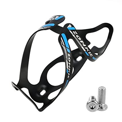 EC90 Full Carbon Fiber Bicycle Water Bottle Holder Light Weight and Strong Quick and Easy to Mount Bike Bottle Cage Red