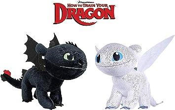 Dragons Oferta Pack 2 Peluches como Entrenar A TU DRAGÓN ...