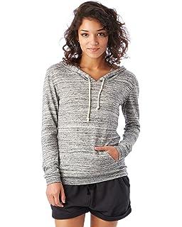 83d5da2e Amazon.com: Alternative Women's Super Distressed Athletics Hoo: Clothing