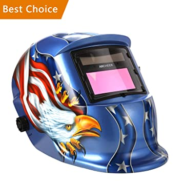Coocheer Solar Arc Tig Mig Auto Darkening Welding Helmet Hood Mig