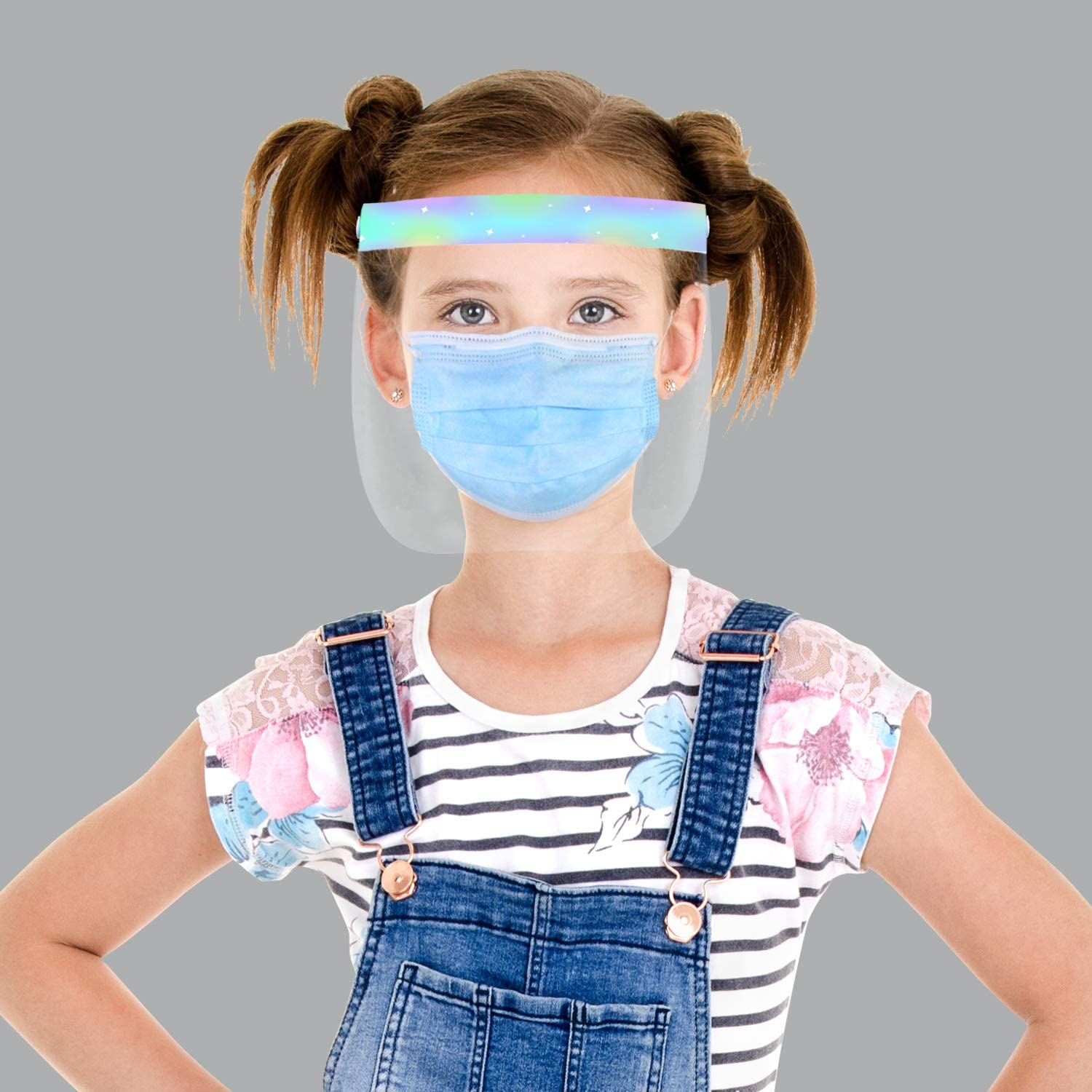 ZKQ Children Dust Facial Decoration Printed Reusable Breathable Face Protective Product Half Shields Dust Face Anti Pollution Covers Outdoor Sun protection 2020 Latest