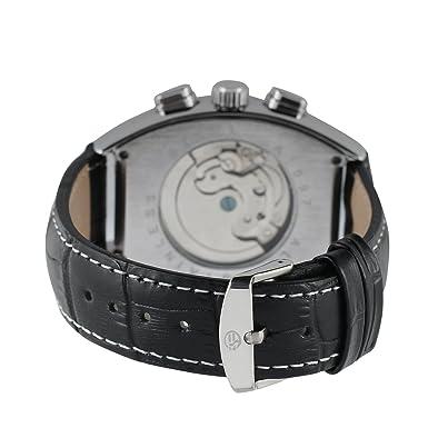 forsining Hombre Steampunk AutomáTico Tourbillon Reloj de Muñeca Calendario fsg9409 m3s3: Amazon.es: Relojes