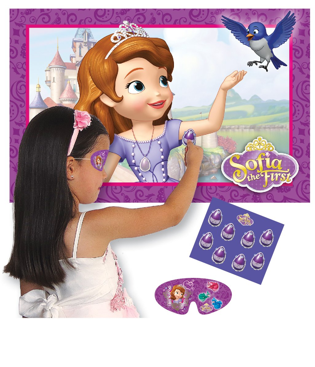 Amscan Sofia Erste Spiel Pin der Amulett Party Zubehör Amscan International 997173 Fantasy-Charaktere