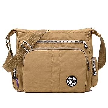 365d8fc521 MeCooler Women Cross Body Bag Casual Shoulder Bag Sport Lightweight Fashion Messenger  Bag for College Bookbag Waterproof Satchel Travel Side Bag  ...