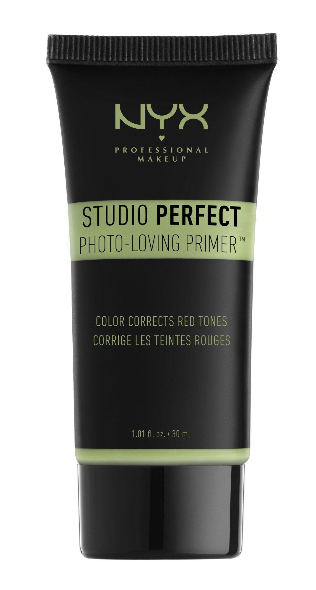 NYX Studio Perfect Primer, Green, 1.0 oz/30ml