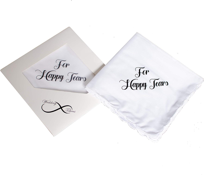 For Your Happy Tears Wedding Handkerchief