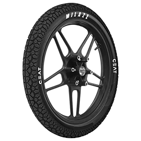 Ceat Milaze 2.50-16 41L Tube-Type Moped Tyre, Rear (Home Delivery)