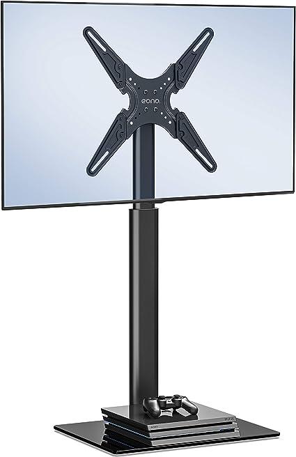 Eono by Amazon Universal Soporte para TV 19-60 Pulgadas Pedestal Giratorio Altura Ajustable para LED LCD QLED OLED MAX.VESA:400x400mm,35kg TV: Amazon.es: Electrónica