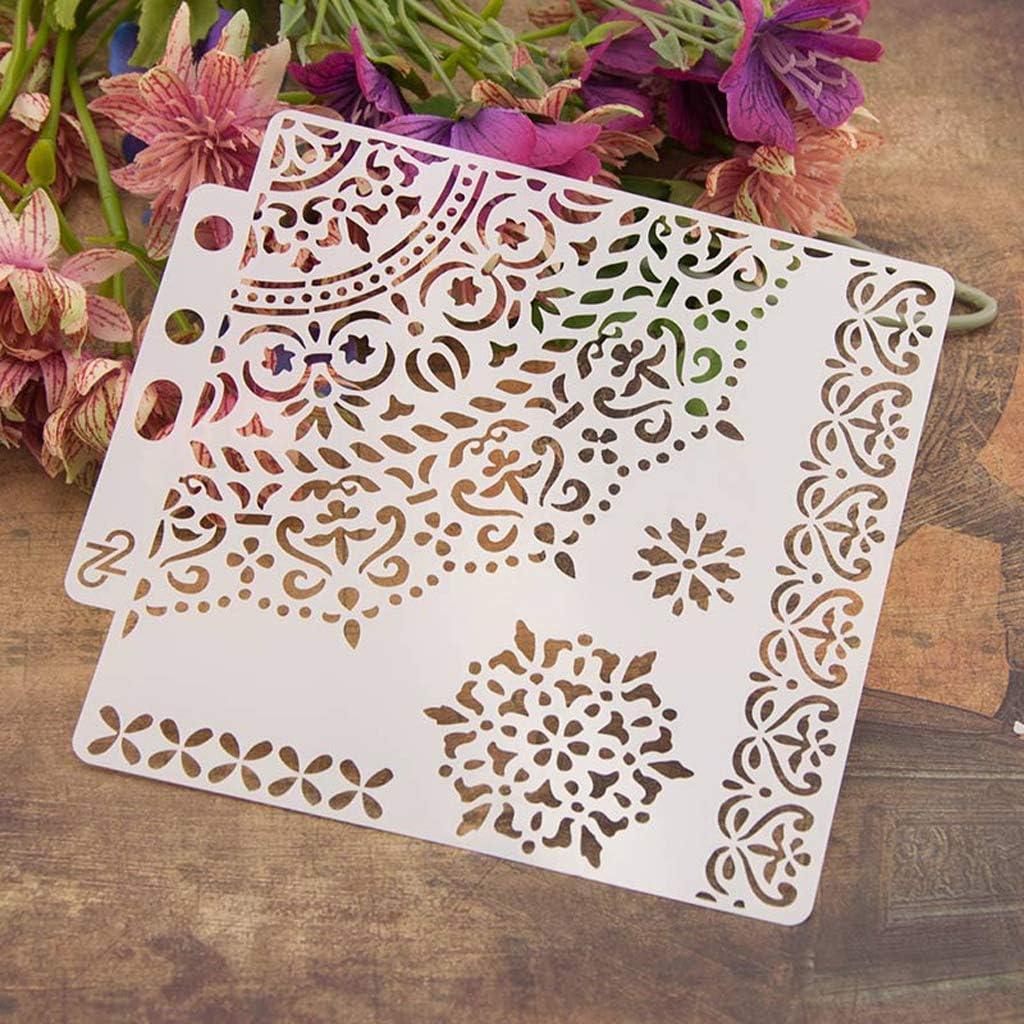 Haven Shop - Plantilla para pintar, plantilla decorativa para grabado, estampación, scrapbooking, tarjetas, manualidades