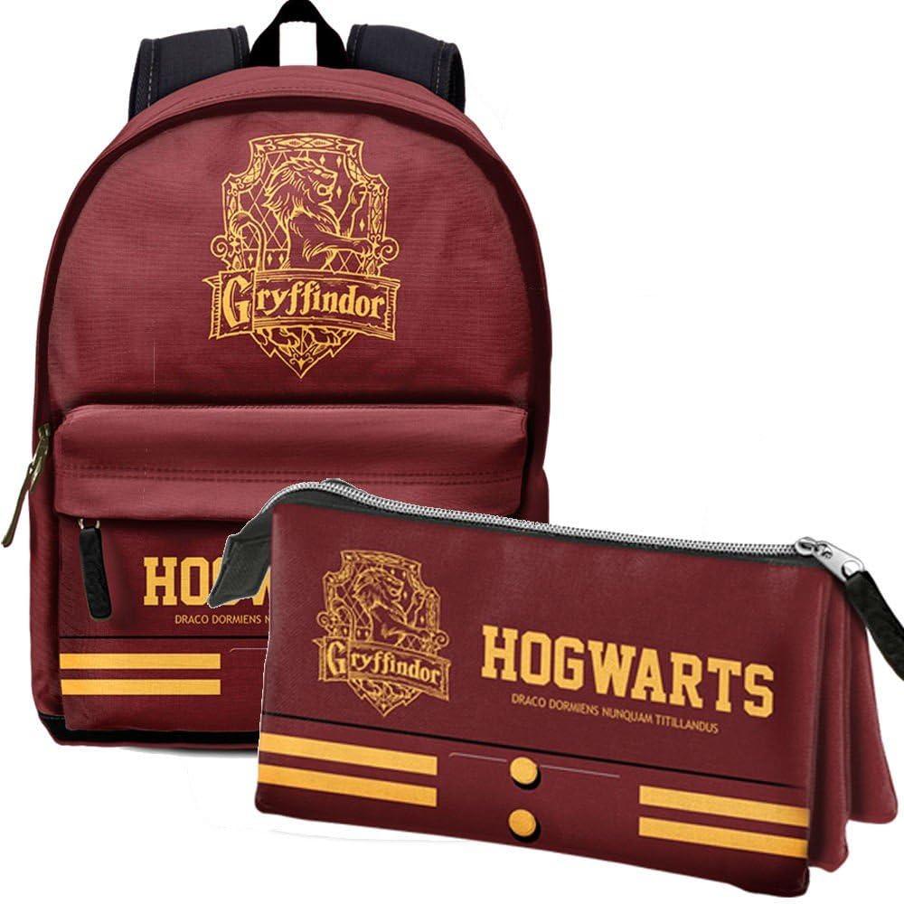 Pack Gryffindor mochila + portatodo Harry Potter: Amazon.es: Ropa y accesorios