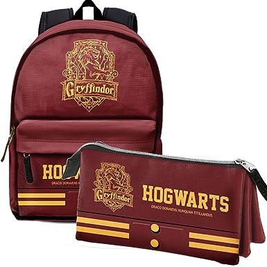 Pack Gryffindor mochila + portatodo Harry Potter: Amazon.es ...