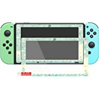 Animal Crossing Design Border Tempered Glass Screen Protector for Nintendo Switch, Transparent HD Clear Protector Film…