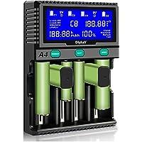 AA-batterijlader, 9 V laadapparaat, batterijen 18650 acculader, lcd-batterijlader, snellader voor oplaadbare accu's AA…