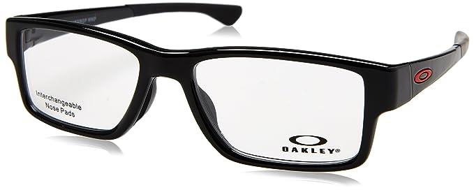 858bebc6f51 Amazon.com  Oakley - Airdrop Trubridge(55) - Polished Black Frame ...
