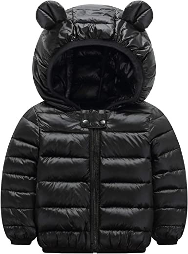 Winter Kids Child Long Cotton Padded Coat Boys Puffer Hooded Down Jacket Parka