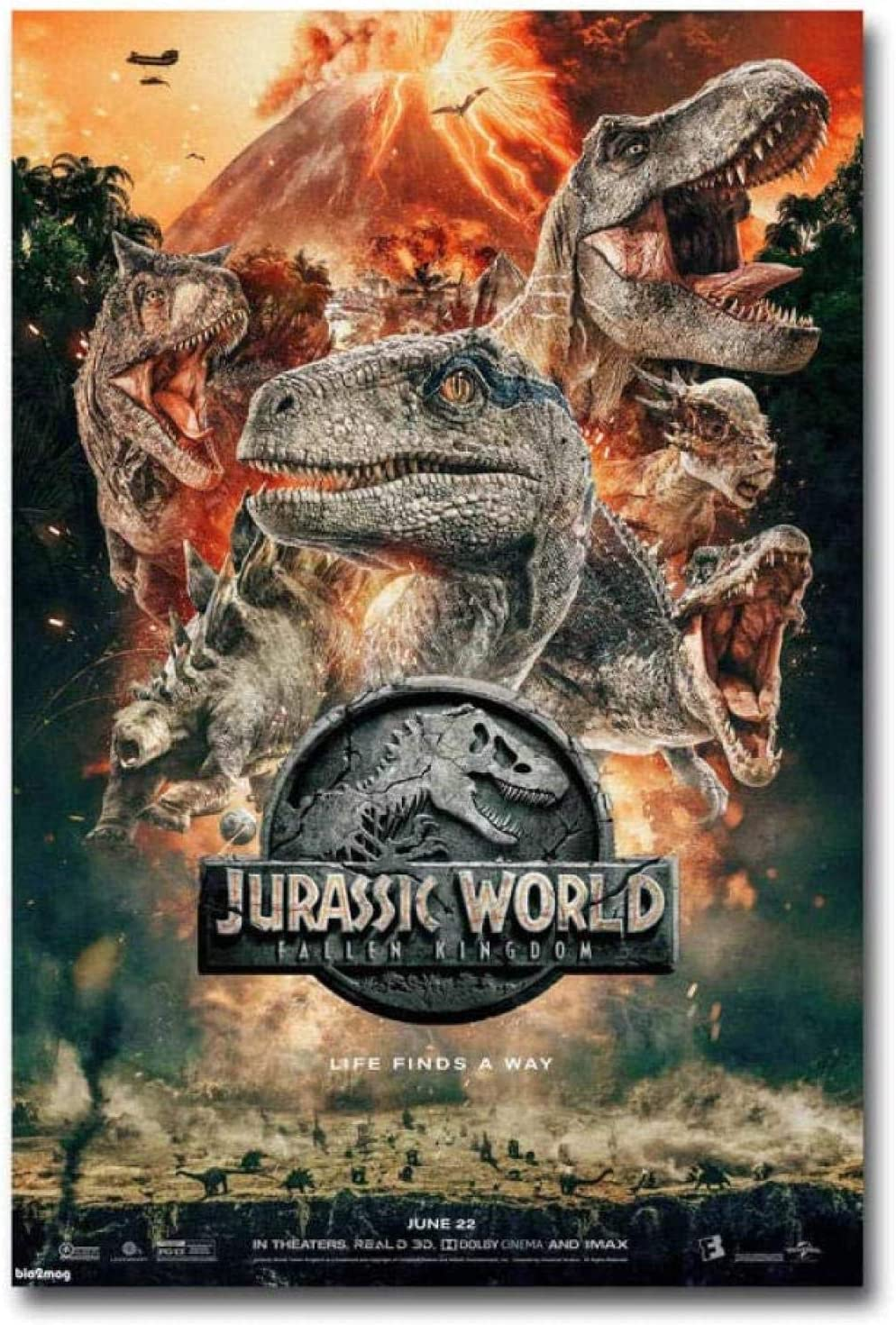 BBSJX Rompecabezas De Madera Jurassic World Adultos Rompecabezas Fallen Kingdom Movie Puzzle 1000 Piezas Juego De Rompecabezas De Alta Dificultad Decoración del Hogar