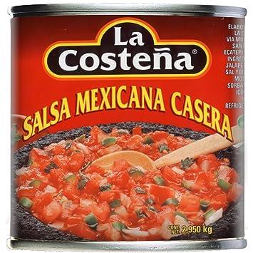 La Costena Original mexicanische Salsa Casera , 1er Pack (1 x 2.95 kg Dose)